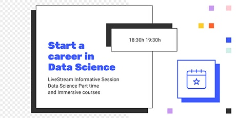 INFO SESSION: How to shift to a career in Data Science entradas