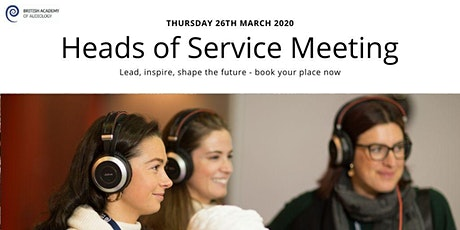 BAA Heads of Service - Exhibitor booking tickets