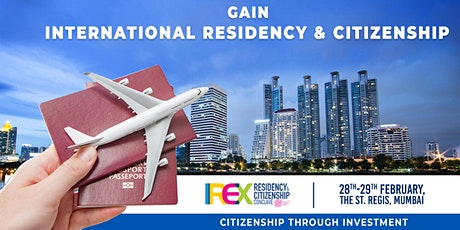 IREX Residency & Citizenship Conclave 2020, Mumbai tickets