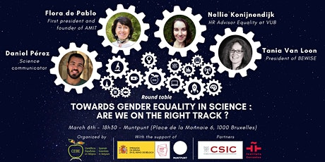 """Towards gender equality in science: are we on the right track""by CEBE tickets"