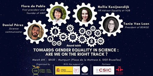 """Towards gender equality in science: are we on the right track""by CEBE"