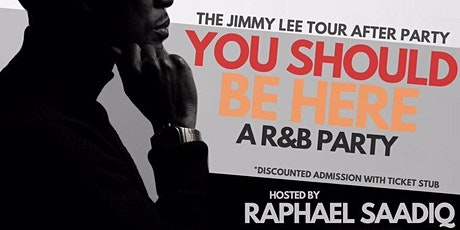 You Should Be Here: An R&B Party hosted by Raphael Saadiq tickets