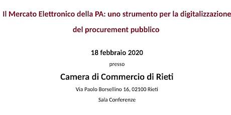 Il MEPA: uno strumento per la digitalizzazione del procurement pubblico biglietti