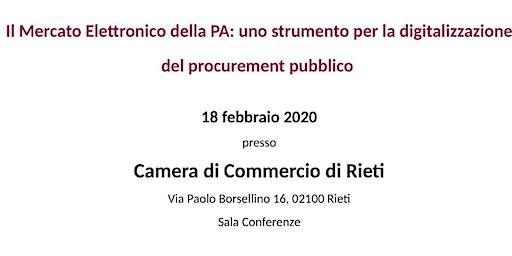 Il MEPA: uno strumento per la digitalizzazione del procurement pubblico