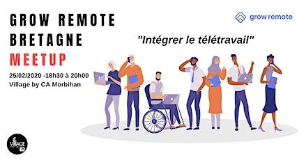 Grow Remote Bretagne Meetup billets