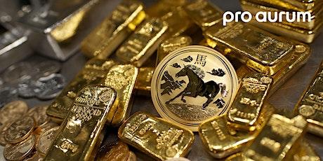 """Dr. Bergold: """"Mit Goldinvestments sicher durch den ökonomischen Winter."""" Tickets"""