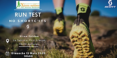 Run test SCOTT/ Xtrem Outdoor Rambouillet billets