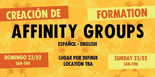 XR Barcelona Affinity Group Creación / Formation (Español + English)