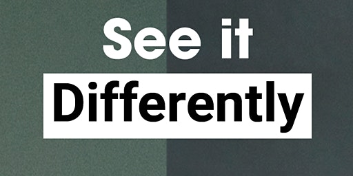 See It Differently  Workshop. Everyone argues, not everyone argues well.