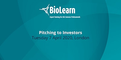BioLearn: Pitching to Investors - London