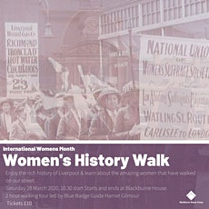 Women's History Walk tickets