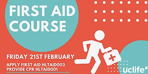 First Aid Training February 2020