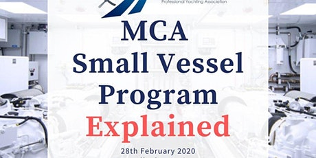 MCA Small Vessel Program (Experienced & Alternative routes) Explained tickets