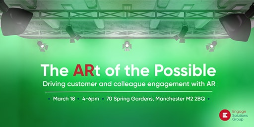 The ARt of the Possible - Driving customer and colleague engagement with AR