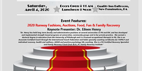 """Recovery - It's A Family Affair"" 8th Annual Fashion Show & Luncheon tickets"