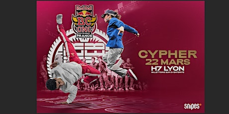 Red Bull BC One Cypher France billets