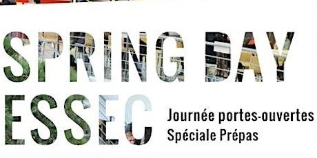 SPRING DAY ESSEC 2020 | Journée Portes Ouvertes Spéciale Prépas billets
