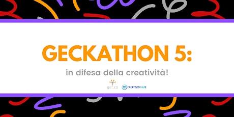 Geckathon 2020 biglietti
