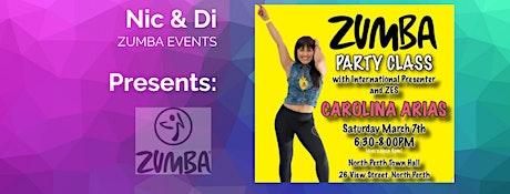 Zumba Party with Carolina tickets