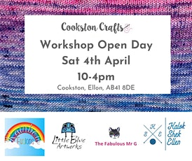 Cookston Crafts Workshop Open Day tickets