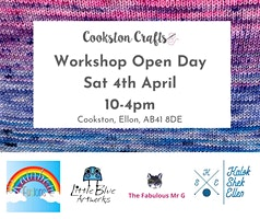 Cookston Crafts Workshop Open Day