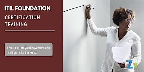ITIL Foundation 2 days Classroom Training in West Palm Beach, FL tickets
