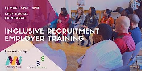 Inclusive Recruitment Employer Training tickets