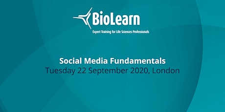 BioLearn: Social Media Fundamentals - London tickets