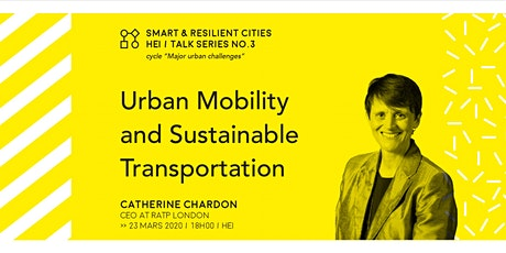 URBAN MOBILITY & Sustainable Transportation tickets