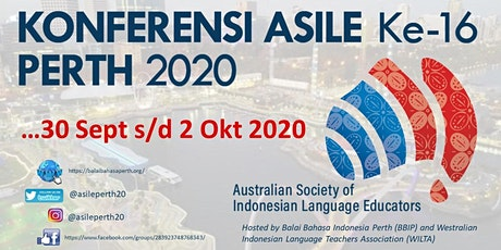 Konferensi ASILE Ke-16 Perth 2020 / 16th ASILE Conference Perth 2020 tickets