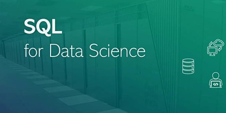 SQL for Data Analytics - Data Science Course 2 Days tickets