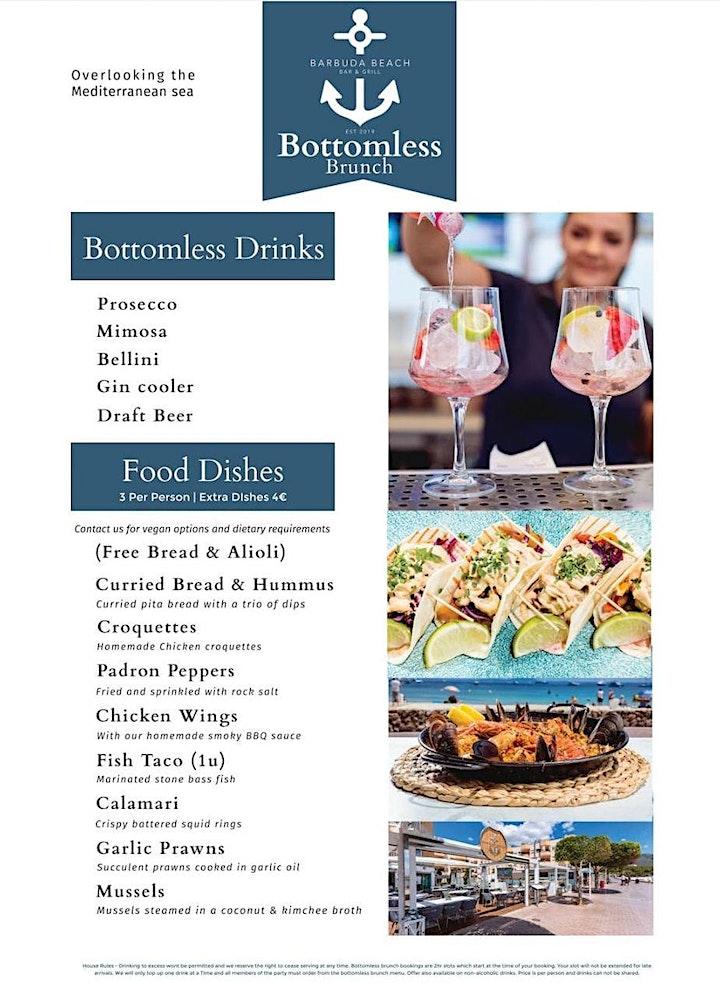 Barbuda Bottomless Brunch image