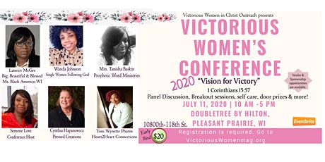 """Victorious Women's Conference 2020 """"Vision for Victory"""" tickets"""