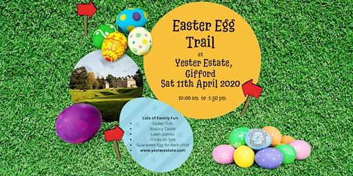Easter Egg Trail @ Yester Estate, Gifford.