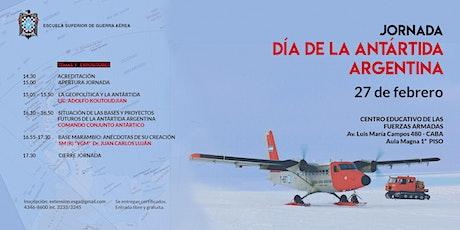 Jornada Antártida 2020 entradas