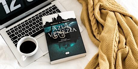 PRESENTACIÓN LIBRO «AZUL VENEZIA», DE MARINA G. TORRÚS entradas