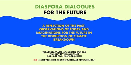 DIASPORA DIALOGUES FOR THE FUTURE tickets