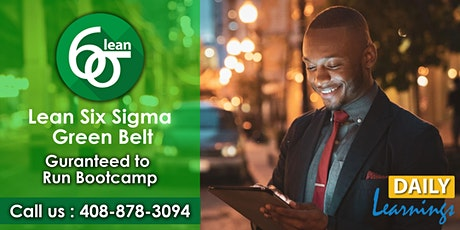 Lean Six Sigma Green Belt Certification Training in Toronto tickets