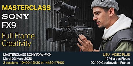 Sony PXW-FX9 Masterclass tickets