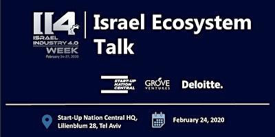 Israel Ecosystem Talk, 15:00-16:00