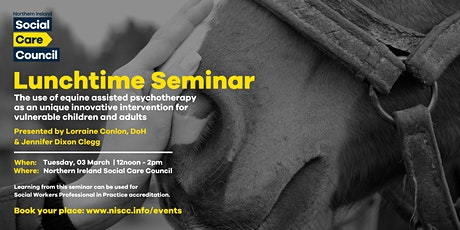 Lunchtime Seminar: incorporating equines into therapeutic interventions tickets