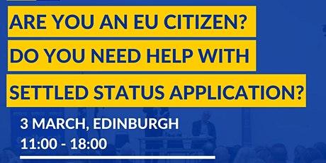 Free EUSS information and support session for EU citizens in Edinburgh tickets