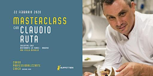 MASTERCLASS teorico-pratica con lo Chef CLAUDIO RUTA