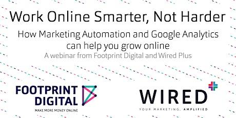 Marketing Automation and Google Analytics Webinar tickets