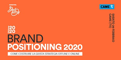 Brand Positioning 2020