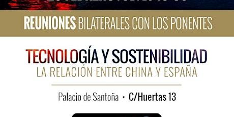 FORO INVERSIÓN CHINA - ESPAÑA. Ruta de la seda tickets
