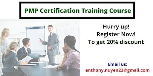 PMP Classroom Training in Montecito, CA