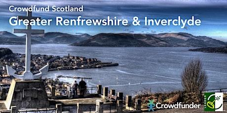 Crowdfund Scotland: Greater Renfrewshire and Inverclyde - Gourock  tickets