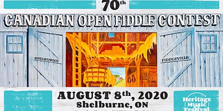 Contestant Registration - 70th Canadian Open Fiddle Championship tickets