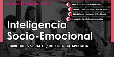 CHARLA INTERACTIVA - INTELIGENCIA SOCIO-EMOCIONAL entradas
